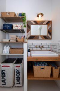 TOTOのシンクを用いた洗面リノベーション実例